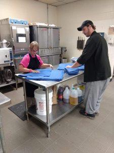 Brittany folding linen